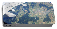 Air Berlin Over Switzerland Portable Battery Charger