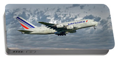 Air France Airbus A380-861 113 Portable Battery Charger