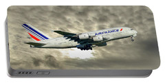 Air France Airbus A380-861 115 Portable Battery Charger