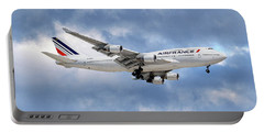 Air France Boeing 747-428 118 Portable Battery Charger