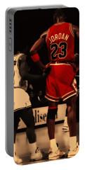 Air Jordan And Muggsy Bogues Portable Battery Charger