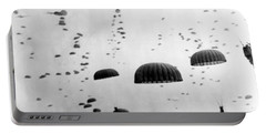 Airborne Mission During Ww2  Portable Battery Charger by War Is Hell Store