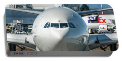 Airbus A330 Alitalia Nose Ei-eji Portable Battery Charger