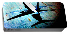 Portable Battery Charger featuring the photograph Airplane Tactics by Sadie Reneau
