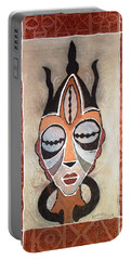 Aje Mask Portable Battery Charger by Bankole Abe