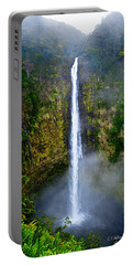 Akaka Falls Portable Battery Charger by Christopher Holmes