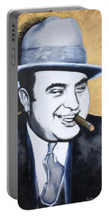 Al Capone Portable Battery Charger by Victor Minca
