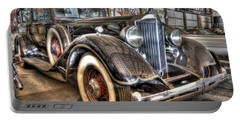 Al Capone's Packard Portable Battery Charger by Nicholas  Grunas