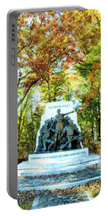 Alabama Monument At Gettysburg Portable Battery Charger