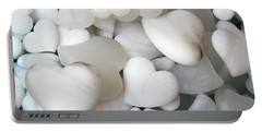 Alabaster Hearts Portable Battery Charger