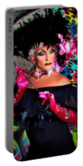 Alan T In 3d As Mae West In Ovahfx  Portable Battery Charger