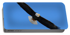Alaska Bald Eagle Portable Battery Charger