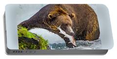 Alaska Brown Bear Portable Battery Charger