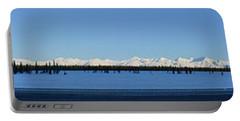 Alaska Highway Panorama Portable Battery Charger