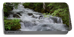 Alaska Waterfall Picture  Portable Battery Charger