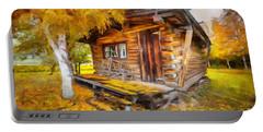 Alaskan Autumn Portable Battery Charger