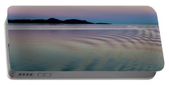 Alaskan Sunset At Sea Portable Battery Charger