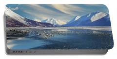 Alaskan Winter Landscape Portable Battery Charger