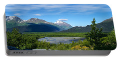Alaska's Exit Glacier Valley Portable Battery Charger