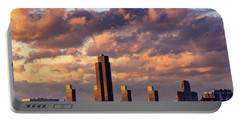 Albany Sunset Skyline Portable Battery Charger