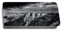 Portable Battery Charger featuring the photograph Alberta Badlands by Wayne Sherriff