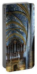 Albi Cathedral Nave Portable Battery Charger by RicardMN Photography
