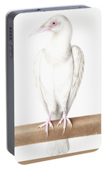 Albino Crow Portable Battery Charger by Nicolas Robert