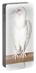 Albino Crow Portable Battery Charger by Nicolas Robert