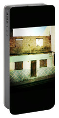 Portable Battery Charger featuring the photograph Alcala Blue House No1 by Anne Kotan