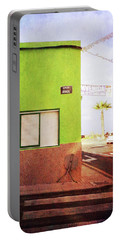 Alcala Green Corner Portable Battery Charger