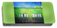 Portable Battery Charger featuring the photograph Alcala Green House No1 by Anne Kotan
