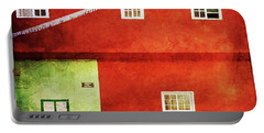 Alcala Red Green House Portable Battery Charger