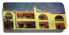 Alcala Yellow Balconies Portable Battery Charger