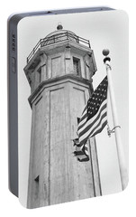 Portable Battery Charger featuring the photograph Alcatraz Light - San Francisco by Art Block Collections