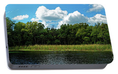 Portable Battery Charger featuring the photograph Alexander Creek by Paul Mashburn