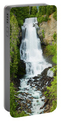 Portable Battery Charger featuring the photograph Alexander Falls - 2 by Stephen Stookey