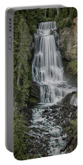Portable Battery Charger featuring the photograph Alexander Falls by Stephen Stookey