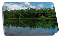Portable Battery Charger featuring the photograph Alexander Springs Pool by Paul Mashburn