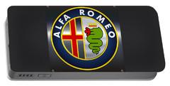 Alfa Romeo Logo Portable Battery Charger