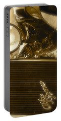 Alfa Romeo Front Grille Detail Phone Case Portable Battery Charger by John Colley