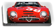 Alfa Romeo Giulia Tz2 Portable Battery Charger