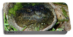 Algae Face Common Snapper Portable Battery Charger