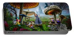 Ali In Wonderland Portable Battery Charger