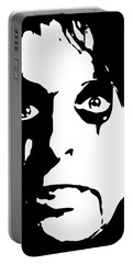 Alice Cooper Pop Art Portable Battery Charger