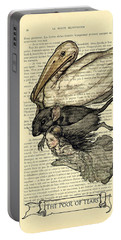 Alice's Adventures In Wonderland The Pool Of Tears Portable Battery Charger