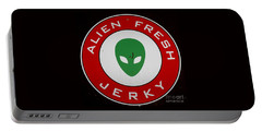 Alien Food Portable Battery Charger