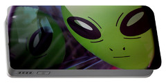 Alien Is Closer Than He Appears Portable Battery Charger