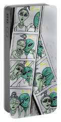 alien Photo Booth  Portable Battery Charger