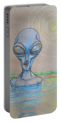 Alien Submerged Portable Battery Charger by Similar Alien
