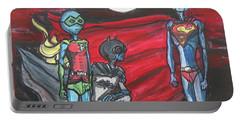 Alien Superheros Portable Battery Charger